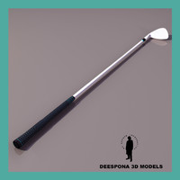 3d max sandwedge metal golf stick