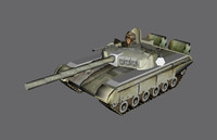 T-72 Low poly
