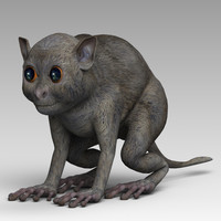 3ds max body tarsiers
