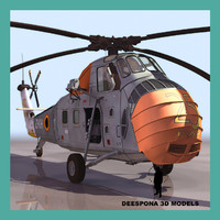 uh34 cargo helicopter max