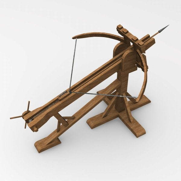 RP] Ballista Model for upcoming Minigame Map : Minecraft