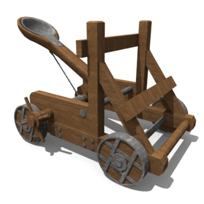 Most Of The Current Catapults Use Those Pre Built Arm Bucket Elements To Make Them But Not All Here S One From 2018 70402 1 The Gatehouse