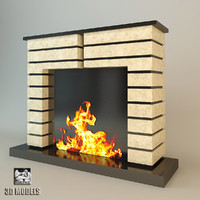 Fireplace Art Deco Style