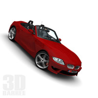3d german roadster