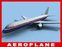 b 757 3d model
