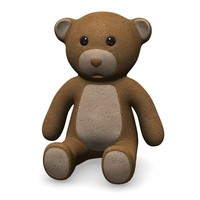 3ds teddy bear