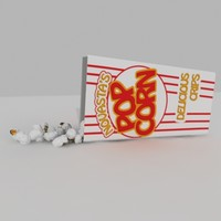 Popcorn with package