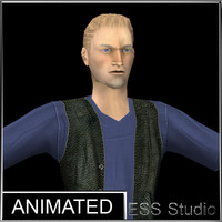 urban man 2 3d model