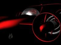 3d skycar car