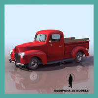 40s PICKUP STREET ROAD CAR 1940