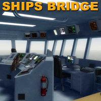 3d ships bridge