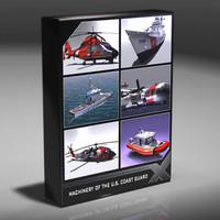 coast guard s patrol 3d model