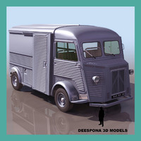 3d max citroen type h french