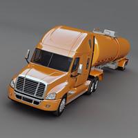 Semi Truck with tank