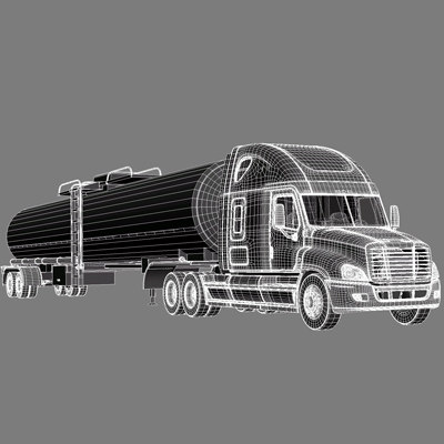 semi truck tank max - Semi Truck with tank... by Alexart247
