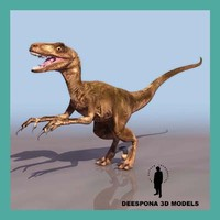 deinonychus dinosaur velociraptor max
