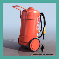 3ds max extinguisher 50kg