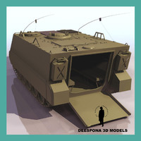 3d m113 armored personnel carrier