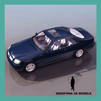 mercedes s 600 limousine 3d max