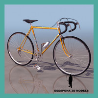 3ds max milano san remo bicycle
