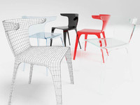 3d modern chair model