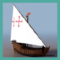THE NIÑA NINA COLOMBUS SHIP 1492 CARAVEL