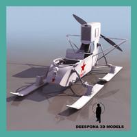 max soviet aerosan rf 8