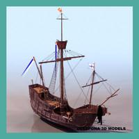 max santa maria colombus ship