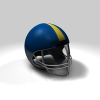 football helmet c4d