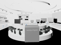 3dsmax electronics sony store