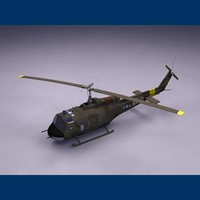 3d uh-1 heavy hog