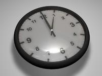 c4d simple clock