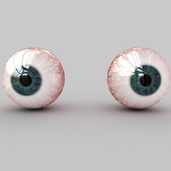 Real Human Eye Parts