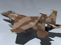 f-15c aggressor 3d model