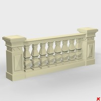 3ds balustrade