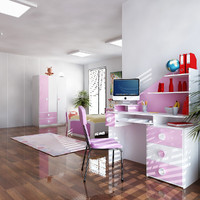 3D Kids Room 02.zip