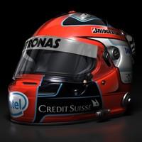 Robert Kubica F1 Helmet