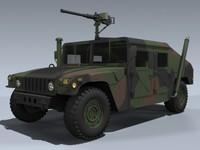 3d m1025 hmmwv nato humvee army model