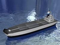 3d oil cargo model