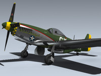 max p-51d mustang miss marilyn