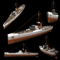 3ds british ww1 sloop