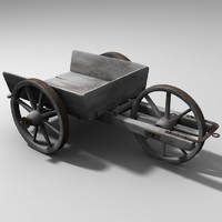 3d model of old vehicle