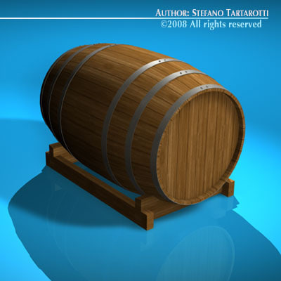 c4d wine barrel - Wine barrel... by tartino