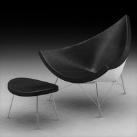 3d coconut chair