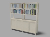 ikea bookshelf ivar max