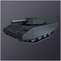3ds medium tank armor gun