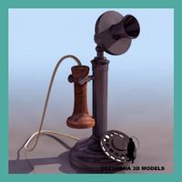 max vintage telephone