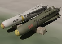 military agm-65 maverick missile 3ds