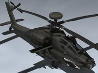3ds max ah-64d apache longbow