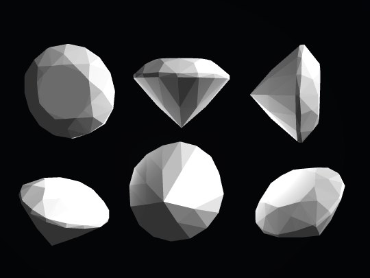 3ds max diamond gem - diamonds6.3ds... by Wanderley